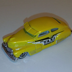Hot Wheels '47 chevy fleetline 047 taxi diecast model car @SOLD@